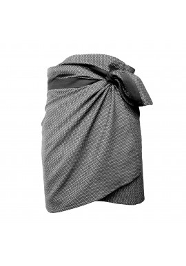 Handtuch The Organic Company Towel to Wrap Around You dark grey