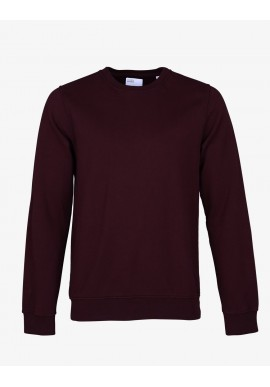 Sweatshirt Colorful Standard oxblood red