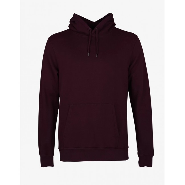 Hoody Colorful Standard oxblood red