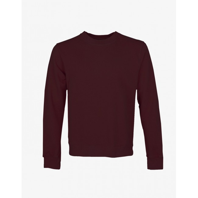 Damen-Sweatshirt Colorful Standard oxblood red