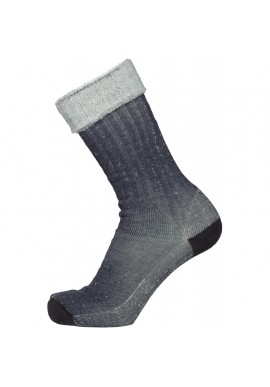 1er-Pack Terry Socken Knowledge Cotton Apparel total eclipse