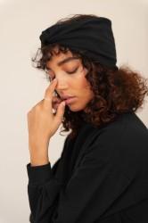 Anjalina Organic Cotton Headband Black