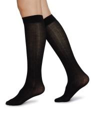 Swedish Stockings Freja Knee-High black