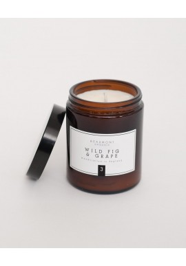 Duftkerze Beaumont Organic Luxury Candle Wild Fig and Grape