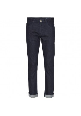 Jeans Knowledge Cotton Apparel Oak Selvedge Denim Blue Rinse