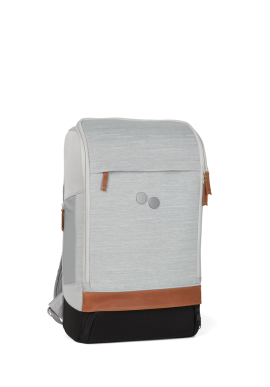 Rucksack pinqponq Cubik Medium Backpack Grey Melange DLX
