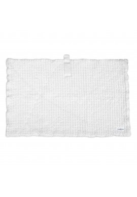 Badematte The Organic Company Big Waffle Bath Mat natural white
