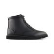 ekn Desert High Ripple Black Vegan Leather / Black Sole