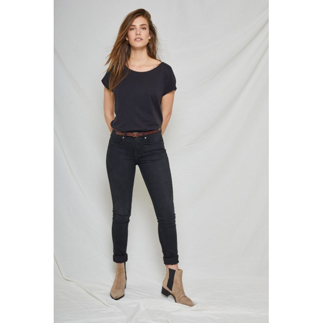 Damen-Jeans Kuyichi Carey Skinny Black Again