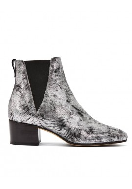 Stiefelette Nine To Five Chelsea Boot Brigge silver lining