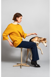 Pullover Elsien Gringhuis Sweater Oversize mustard