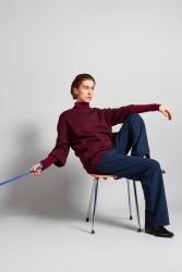Pullover Elsien Gringhuis Sweater Oversize bordeaux