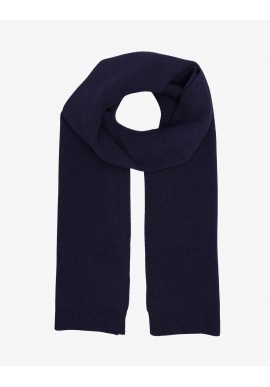 Merino-Wollschal Colorful Standard navy blue