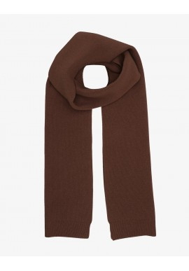 Merino-Wollschal Colorful Standard coffee brown