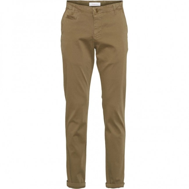 Chinos Knowledge Cotton Apparel Chuck burned olive