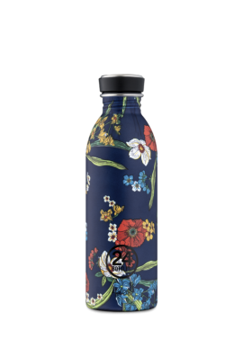 Trinkflasche 24Bottles 500ml Urban Denim Bouquet
