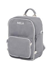 Mini-Rucksack Melawear Mela ll Mini grau
