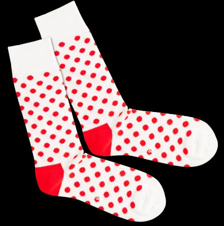 Socken DillySocks Bloody Snow Balls