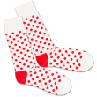 Socken DillySocks Bloody Snow Balls