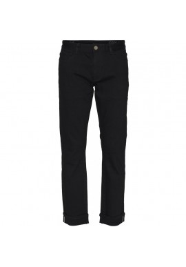 Jeans Knowledge Cotton Apparel Ash Selvedge Denim black rinse