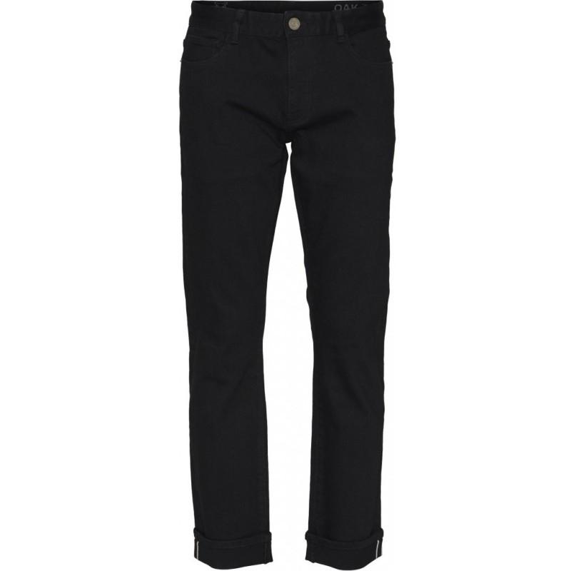Jeans Knowledge Cotton Apparel Ash Selvedge Denim black rinse