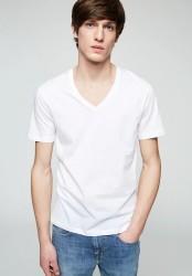 T-Shirt Armedangels Chaarlie white