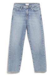 Damen-Jeans Armedangels Fjellaa Cropped mid blue
