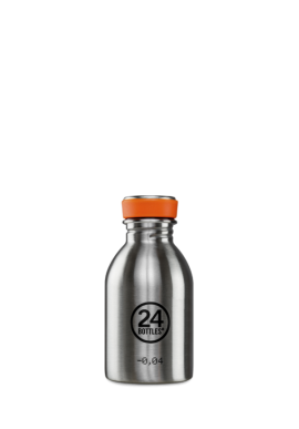 Trinkflasche 24Bottles 250ml Steel