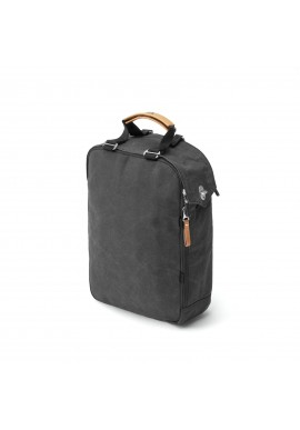 Rucksack Qwstion Daypack Organic Washed Black