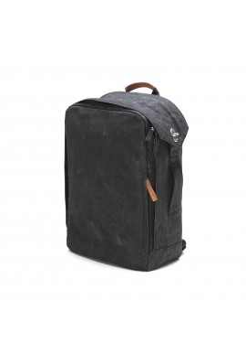 Rucksack Qwstion Backpack Organic Washed Black