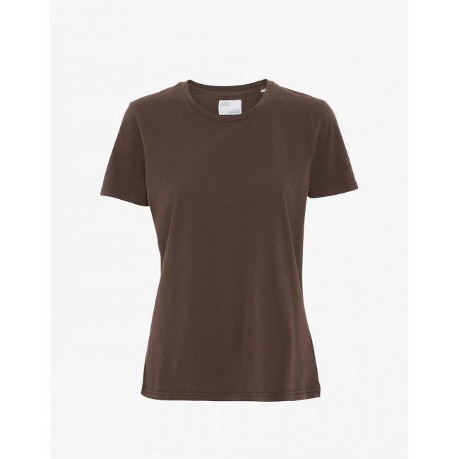 Damen-T-Shirt Colorful Standard coffee brown