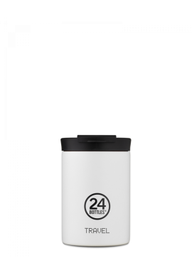 Thermobecher 24Bottles Travel Tumbler 350ml Ice White