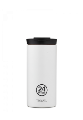 Thermobecher 24Bottles Travel Tumbler 600ml Ice White