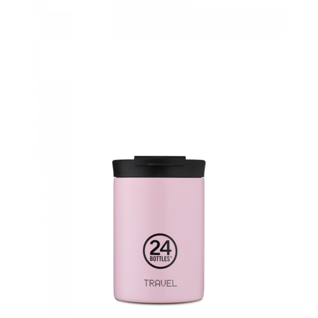 Thermobecher 24Bottles Travel Tumbler 350ml Candy Pink