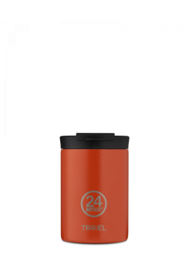 Thermobecher 24Bottles Travel Tumbler 350ml Sunset Orange