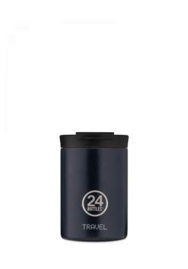 Thermobecher 24Bottles Travel Tumbler 350ml Deep Blue