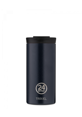 Thermobecher 24Bottles Travel Tumbler 600ml Deep Blue