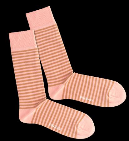 Socken DillySocks Salmon Liner