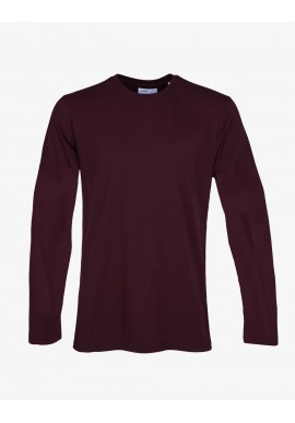 Longsleeve Colorful Standard oxblood red