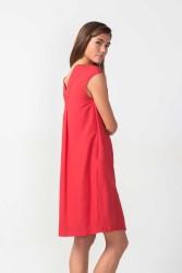Kleid SKFK Olaia Dress chili orange