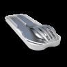 Besteck zu Monbento Original Lunchbox grey Coton