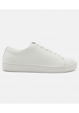 ekn Oak Low White Vegan Leather