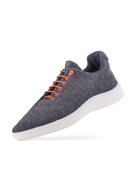 Woll-Sneakers Baabuk Urban Wooler orange
