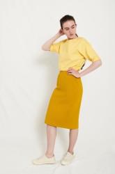 Rock Elsien Gringhuis Skirt Straight mustard