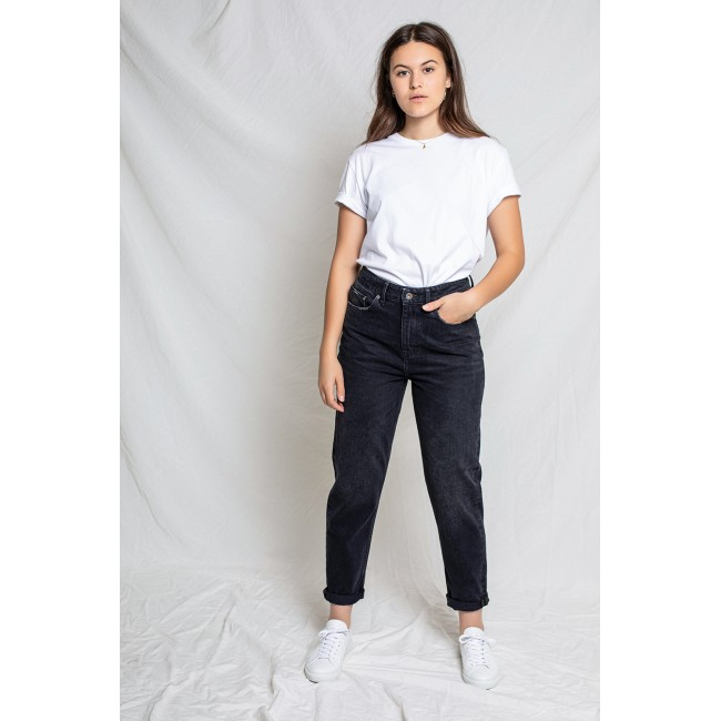 Damen-Jeans Kuyichi Nora Mom Fit Vintage Black