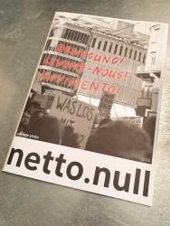 netto.null - Das Magazin zum Klimastreik