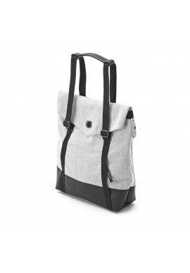 Qwstion Small Tote Organic Washed Grey