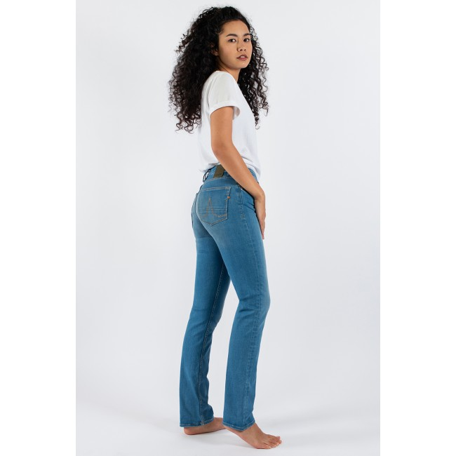 Damen-Jeans Kuyichi Sara Straight Very Likely Light Blue