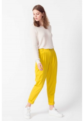 Hose SKFK Domaika Trousers yellow curry