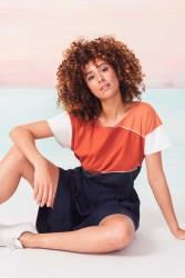 T-Shirt SKFK Kattalin chili orange